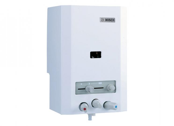 Bosch Therm 4000 OC W 125 V2P Piezo Gyújtású Gázüzemű Átfolyós Vízmelegítő Csapteleppel